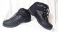 Ботинки мужские демисезонные кожаные черные Firetrap Rhino Boots (размер 44)