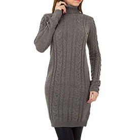 Женское платье от Shk Paris, размер One Size - серый - KL-FM-20-серый