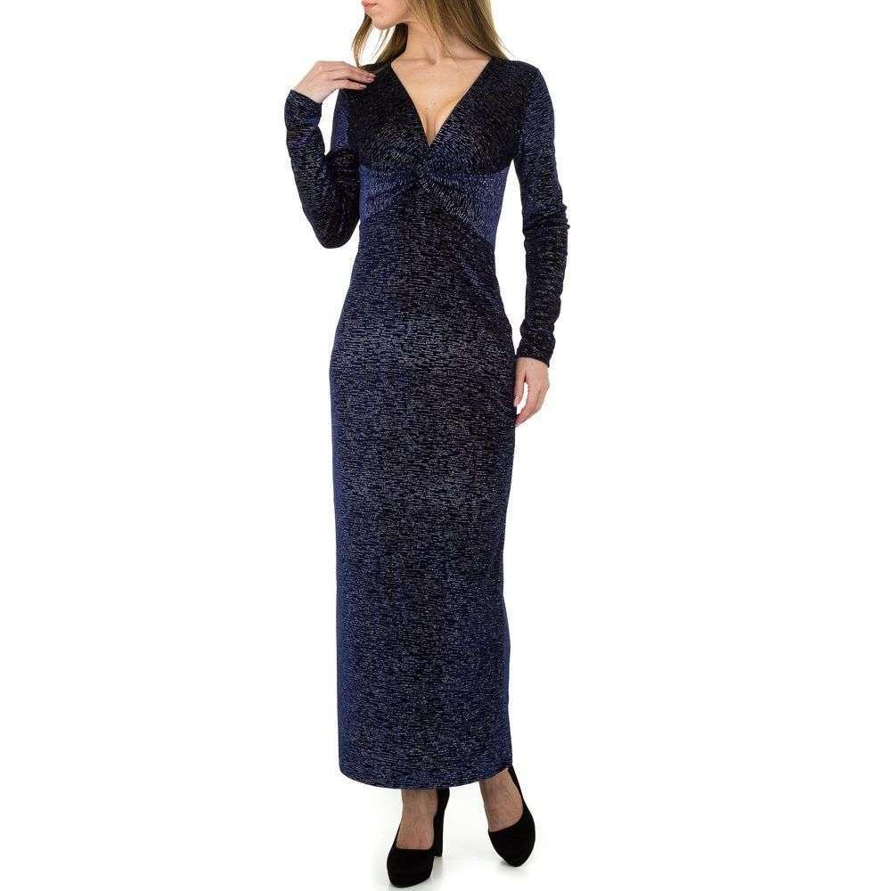 Женское платье от Emmash Paris - D. blue - KL-МУ-1050-D. blue