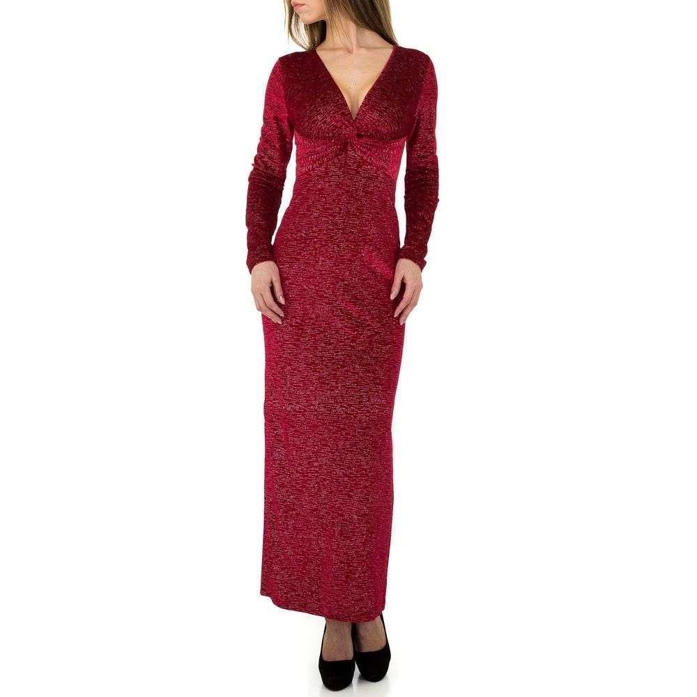 Женское платье от Emmash Paris - красный - KL-МУ-1050-red