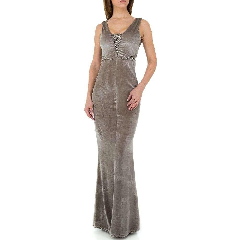 Женское платье от Emmash Paris - серый - KL-МУ-1068-серый