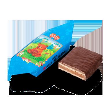 Белорусские конфеты Мишка на поляне в крупном корпусе