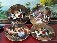 Декоративная настенная тарелка Германия 20-й век Adolf Eberle