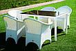 Кресло из искусственного ротанга Марокко плетеное 70x65x88 см (marokko-01), фото 2
