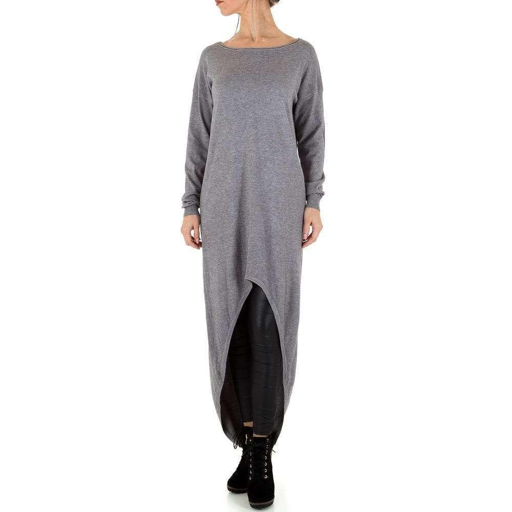 Женское платье от Voyelles, размер One Size - серый - KL-C661-серый