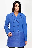 Куртка демисезонная из двух видов ткани