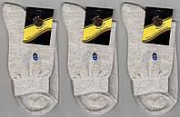 Носки мужские х/б с сеткой Классик, 25, 27, 29, 31 размеры, бежевые под лён, 1045