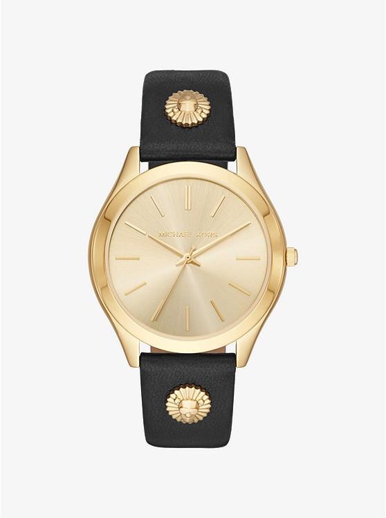 Часы Michael Kors Slim Runway Gold-Tone MK2743