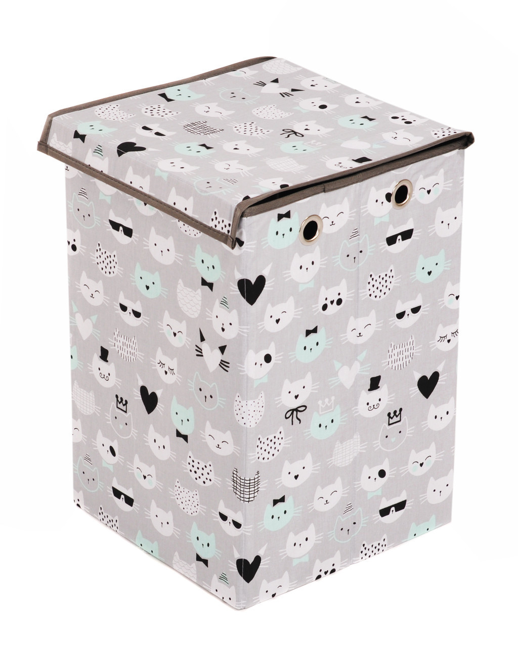 Детский ящик для игрушек Котики, 35*35 см