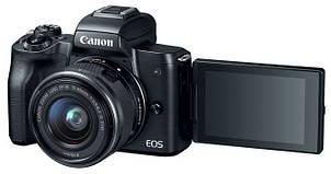 Фотоапарат Canon EOS M50 EF-M + 15-45mm f/3.5-6.3 IS STM (Black), фото 2
