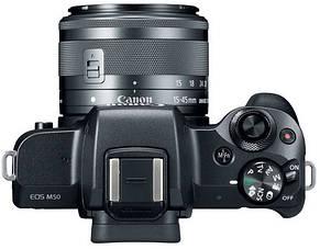 Фотоапарат Canon EOS M50 EF-M + 15-45mm f/3.5-6.3 IS STM (Black), фото 3