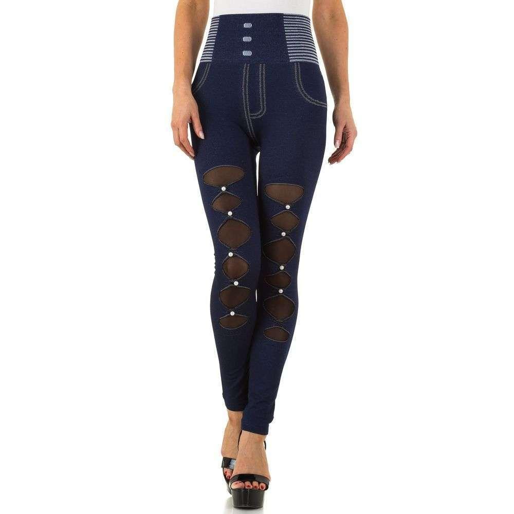 Женские лосины от Fashion Design, размер one size - blue - SS-BF68079-синий