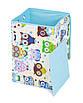 Ящик для зберігання іграшок, 35*35*55 см, (бавовна), Сови з синім ( з кришкою ), фото 5