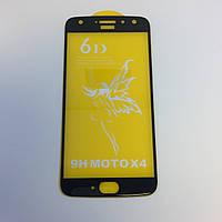 Защитное стекло Premium 6D  MOTOROLA X4 - черный
