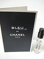 Bleu de Chanel - туалетная вода (Оригинал) 2ml (пробник)