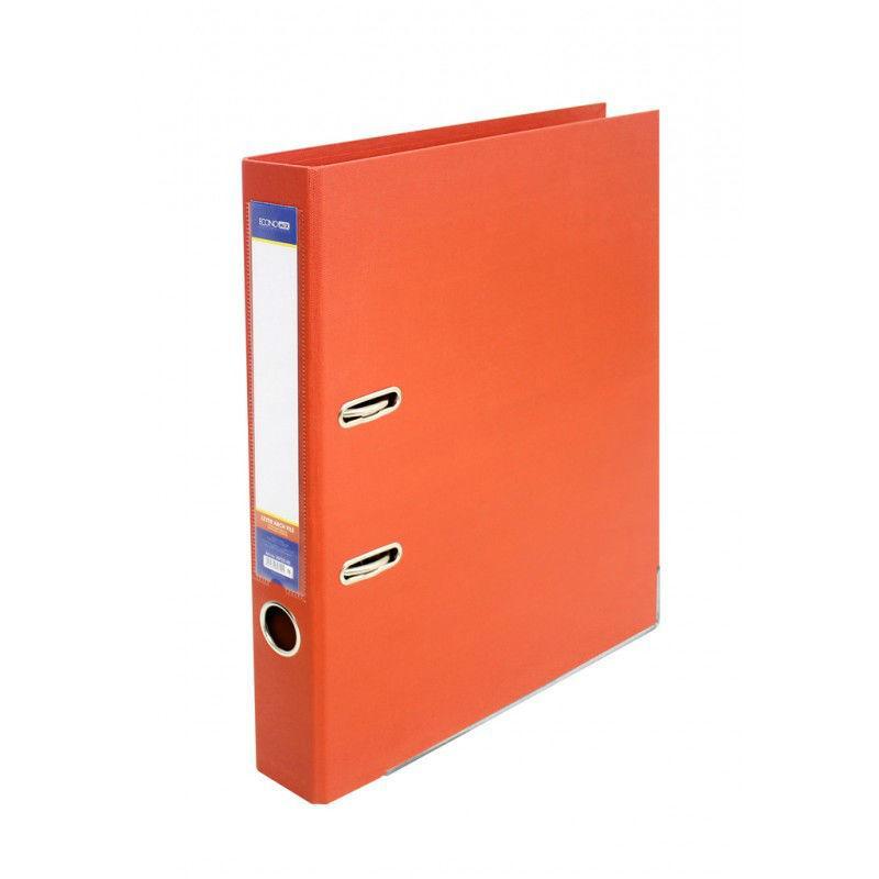 Папка регистратор А4 LUX Economix, 50 мм, оранжевая E39722*-06