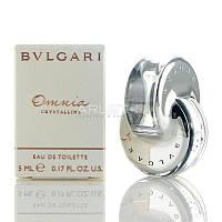 Bvlgari Omnia Crystalline - туалетная вода (Оригинал) 5ml (миниатюра)