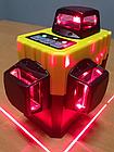 3D Muli 🔹 12 линий 360 градусов ❌ КРАСНЫЙ ЛУЧ ➜ до 50м 🔴 лазерный уровень нивелир + БАТАРЕЯ 2000mAh, фото 3
