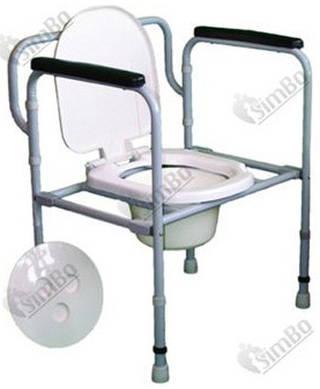 Складной стул-туалет регулируемый СТС-1.1.0
