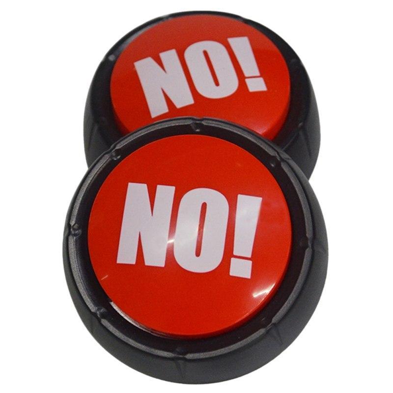 """Кнопка которая говорит """"нет"""" разными голосами! Кнопка NO! звуковая кнопка"""
