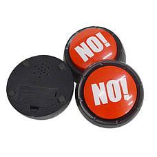 """Кнопка которая говорит """"нет"""" разными голосами! Кнопка NO! звуковая кнопка, фото 3"""