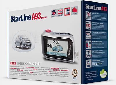 Двухсторонняя сигнализация на автомобиль StarLine А93 Can+Lin