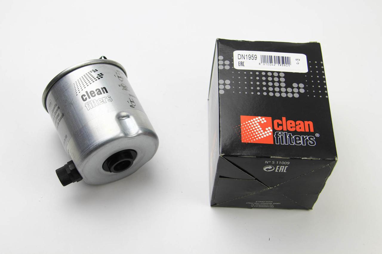 Фильтр топливный Renault Logan 1.5dCi 2006- (с датчиком) Clean Filters