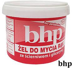 Паста для рук 500 г с абразивными частицами BHP-PAS500SCIER