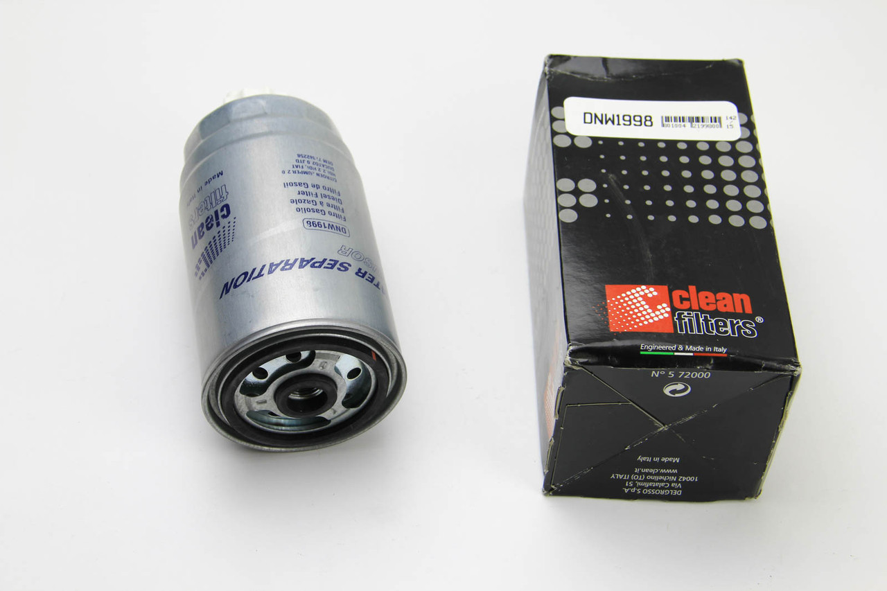 Фильтр топливный Fiat Ducato 2002- Clean Filters
