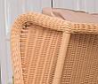Плетеное кресло из искусственного ротанга с высокой спинкой Лондон 64x93x110 см (london), фото 5