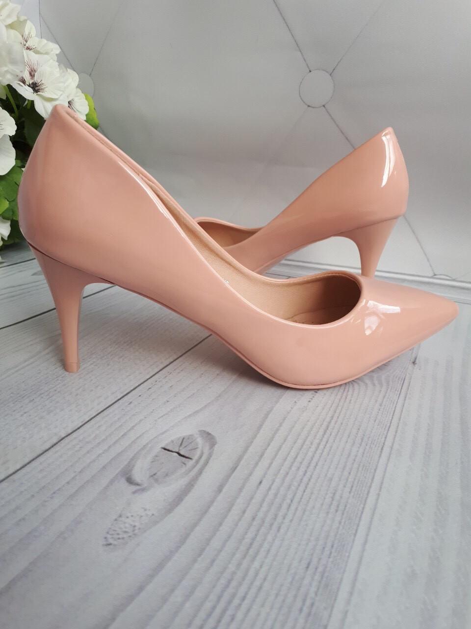 6d501dc7b Туфли женские лодочки шпилька 8см средний каблук - интернет-магазин обуви