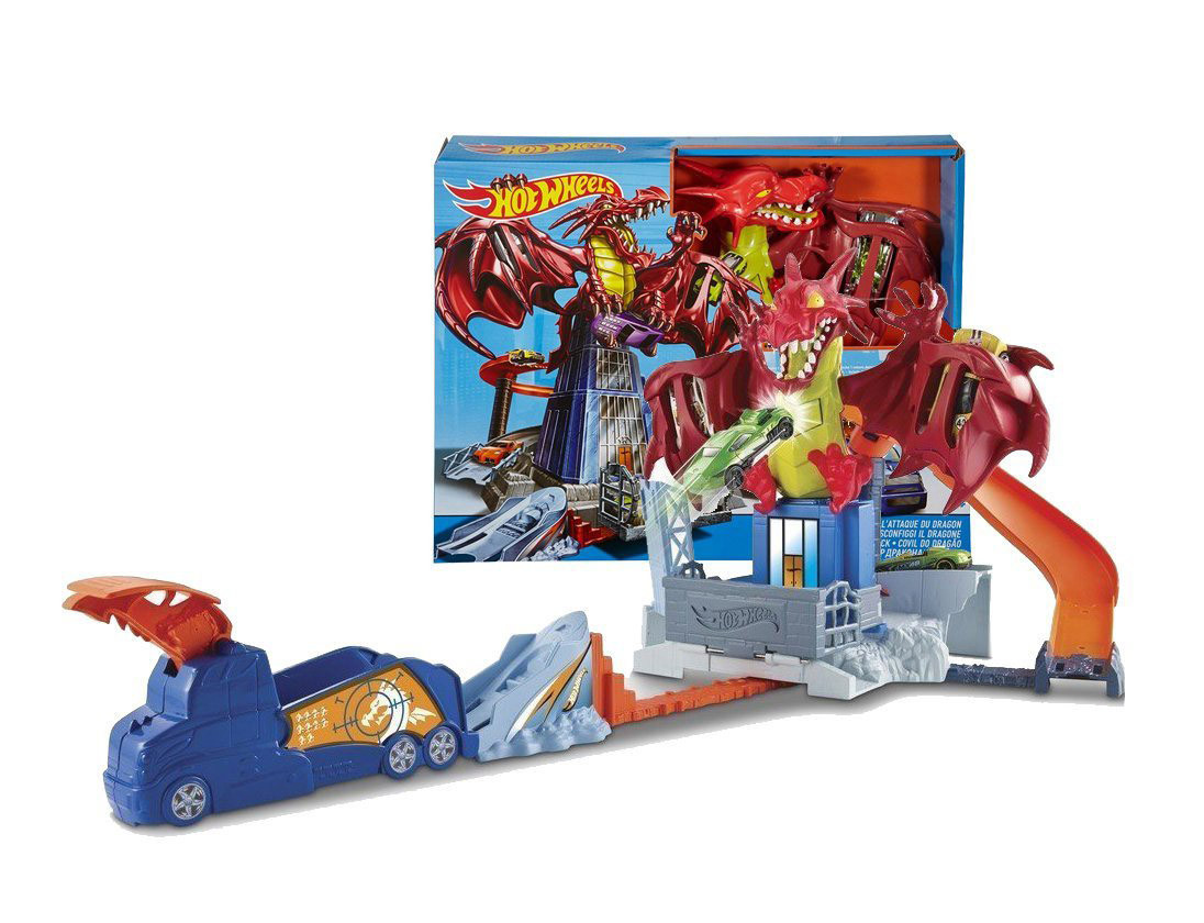 Hot Wheels Dragon Blast Атака дракона (Трек Битва с драконом. Хот Вилс Атака дракона)