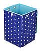 Детский ящик для игрушек Звезды на синем, 30*30 см, фото 2