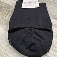 Шкарпетки чоловічі демісезонні без гумки медичні бавовна Елегант, 27 розмір, чорні, 0825, фото 2