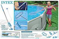 Наборы для чистки бассейнов intex, bestway