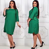 Платье модель 791 зеленое