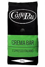Кофе в зернах Caffe Poli Crema Bar, 1 кг