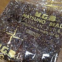 Бісер японська рубка Matsuno 24-L, розмір 11/0 (упаковка 100грам)
