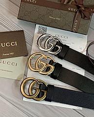Женский кожаный ремень Gucci