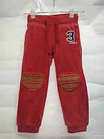 Спортивные велюровые штаны на девочку рост 92, фото 1
