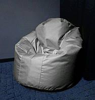 Кресло мешок Пуф св. серый