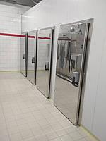 Двери холодильной камеры , откатные , распашные , двустворчатые.