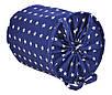 Мішок для зберігання іграшок, 35*40 см, (бавовна), Зірки на синьому, фото 2