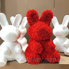 Заготовки для мишки из роз 40 см в Киеве производитель, наличие, опт/розница, фото 2
