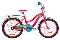 """Велосипед для девочек 20"""" FORMULA FLOWER , фото 1"""