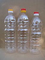 Пластиковая ПЭТ тара 1л для масла