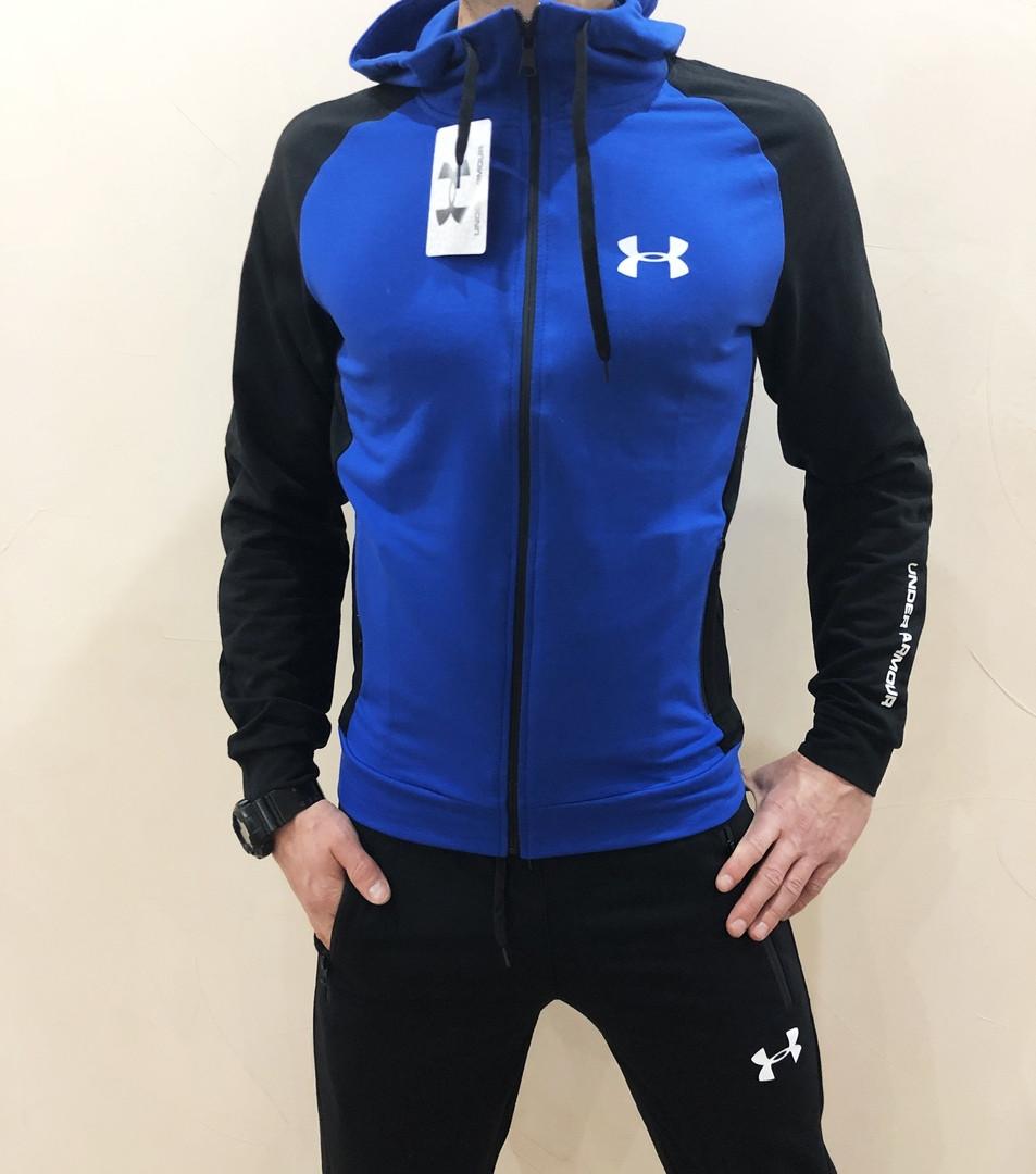 d22e30e8 Мужской спортивный костюм UNDER ARMOUR синий цвет уже ждет ваших заказов !