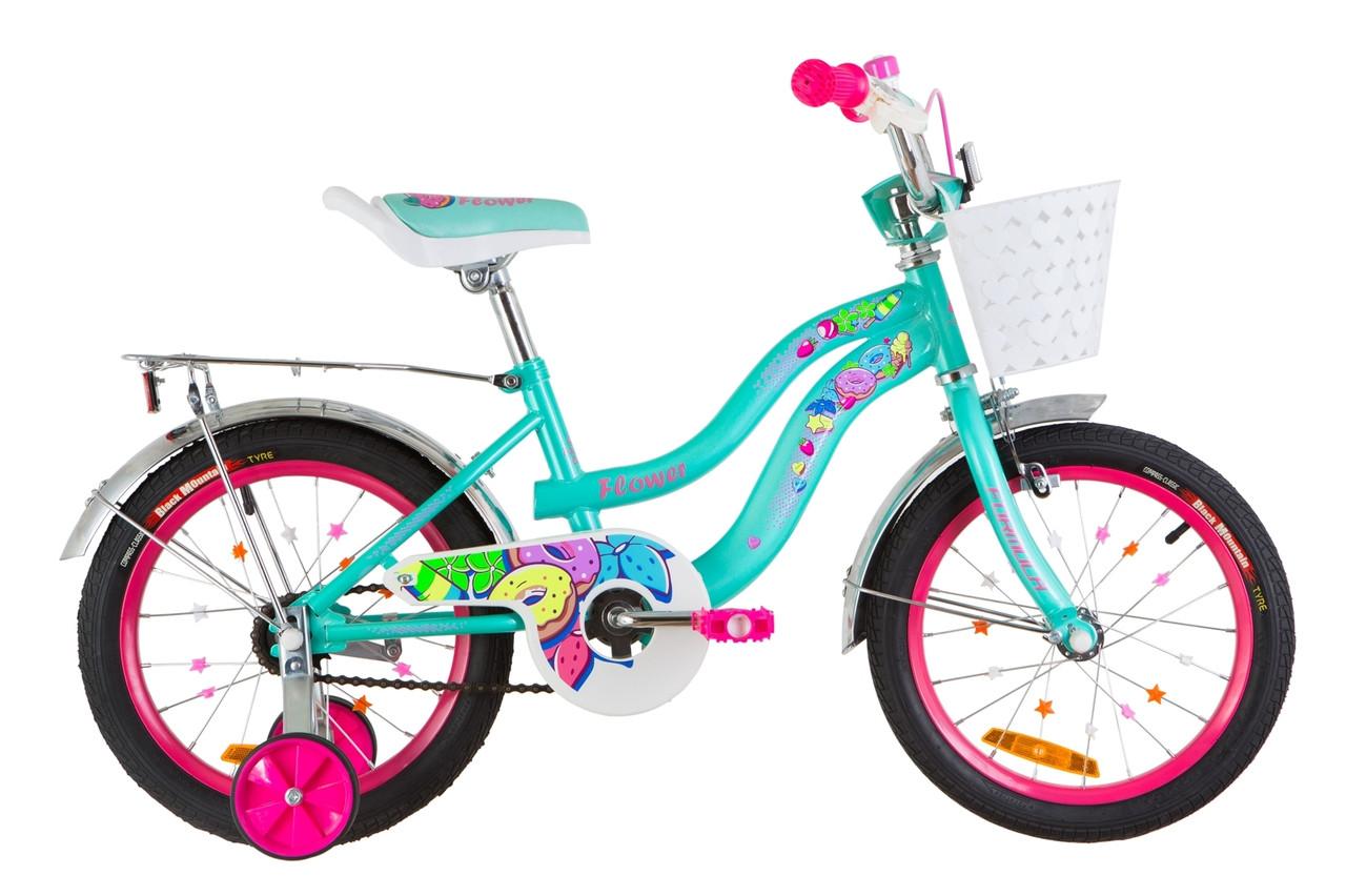"""Велосипед для девочек 16"""" FORMULA FLOWER"""