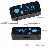 Bluetooth аудио приемник X6, фото 4