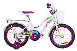"""Велосипед для дівчаток 16"""" FORMULA FLOWER, фото 3"""